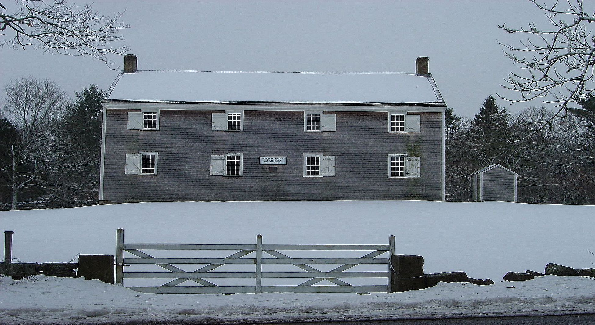 Apponagansett Meeting House
