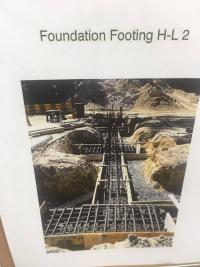 Foundation Footing H-L 2