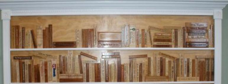 Book Spine Donation