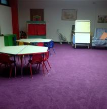 storytime room at Southworth Library