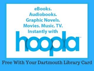 Hoopla Free with Dartmouth Library