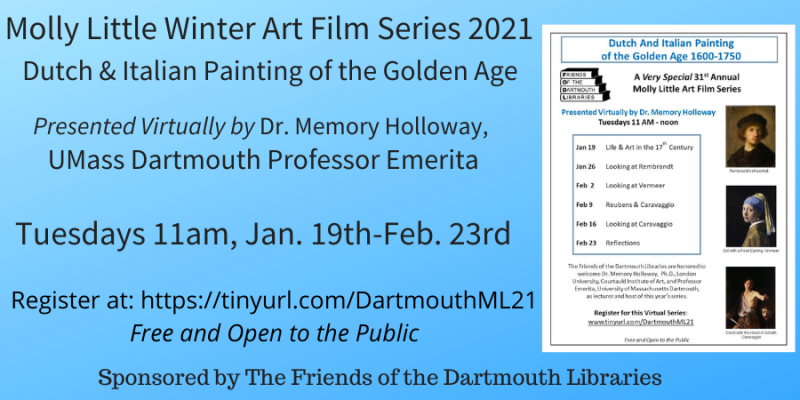 Winter Art Film Series 2021 Jan 19-Feb 23