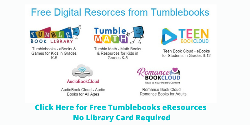 Free Tumblebooks Resources